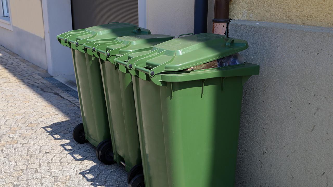 Green Compost Bins